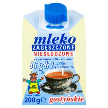 Mleko zagęszczone niesłodzone 4% light - Sm Gostyń. Idealne mleczko do kawy.