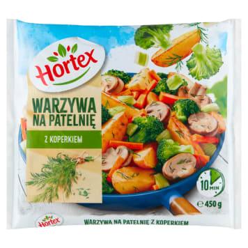 Warzywa na patelnię - Hortex. Wyjątkowa kompozycja chrupiących warzyw.