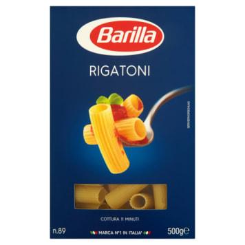 Makaron rurki nacinane - Barilla. Klasyczny rodzaj makaronu, który pochodzi z Rzymu.