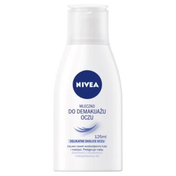 Aqua Effect Mleczko do demakijażu oczu NIVEA 125ml. Doskonale usuwa makijaż oczu, nawet wodoodporny.