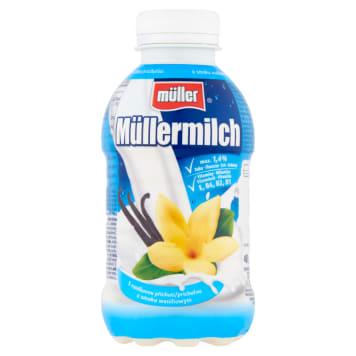 Mleko waniliowe Muller to pyszny napój, który jest źródłem białka. Wygodny w transporcie.