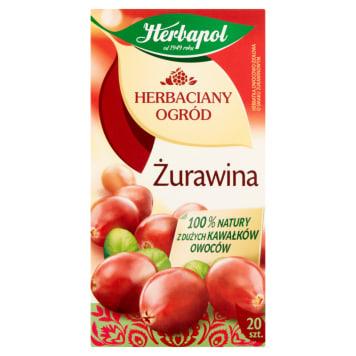 Herbata owocowo-ziołowa Żurawina - Herbapol. Pyszna herbata z dodatkiem żurawiny.