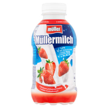 Mleko truskawkowe 400ml - Muller - propozycja nie tylko dla dzieci