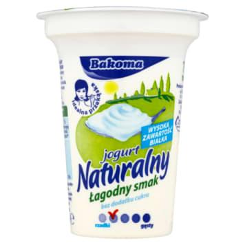 Jogurt naturalny Łagodny Smak Bakoma