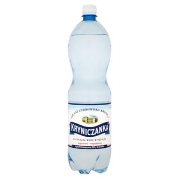 Naturalna woda mineralna gazowana - Kryniczanka. Wyjatkowe orzeźwienie i energia na każdy dzień.