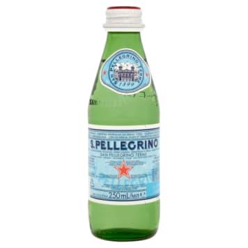 Woda mineralna - San Pelle Grino to gwarancja najlepszego orzeźwienia.