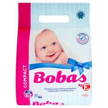 Proszek do prania - Bobas. Stworzony z myślą o ochronie skóry dzieci.