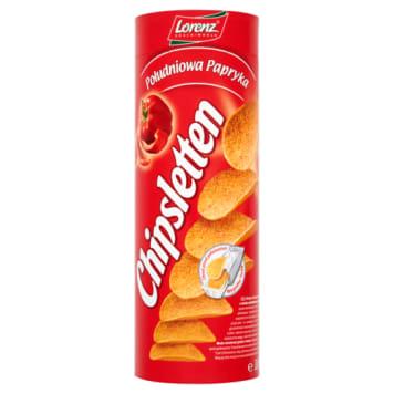 Lorenz - Chipsletten Chipsy paprykowe warto położyć na imprezowym stole. Pysznie smakują.