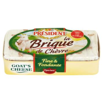 Ser pleśniowy kozi miękki La Brique de Chevre 150g - President