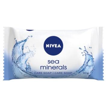 Nivea-Mydło w kostce Sea Minerals. Zapewnia odżywienie i oczyszczenie.