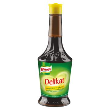 Knorr - Przyprawa w płynie Delikat . Niepowtarzalny smak, którego nie można pomylić.