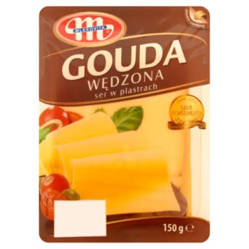Mlekovita - Ser Gouda wędzona w plastrach. Idealny dodatek do kanapek.