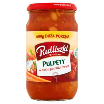 Pudliszki - Pulpety w sosie pomidorowym. Tradycyjne danie w najlepszym wydaniu.