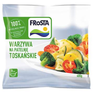 Warzywa na patelnię Toskańskie - Frosta. Danie, które szybko przygotujesz dla całej rodziny.