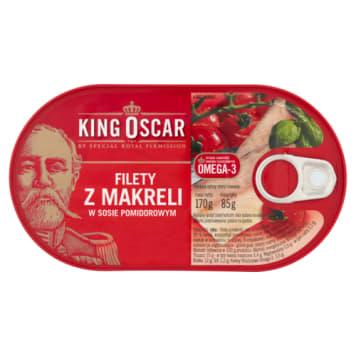 Filety z makreli w sosie pomidorowym - King Oscar