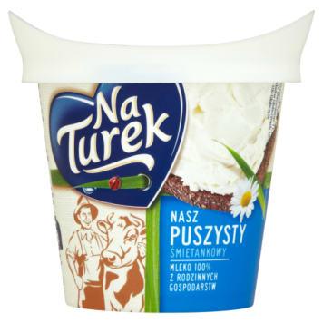 Serek twarogowy śmietankowy - Naturek zachwyca smakiem i konsystencją.