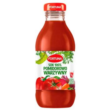 Fortuna - Sok wielowarzywny 100%. Zdrowy napój w wygodnym kartonie.
