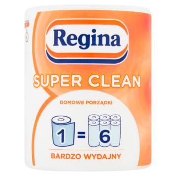 Ręcznik papierowy - Regina Super - Clean. Gwarancja czystości każdej kuchni.