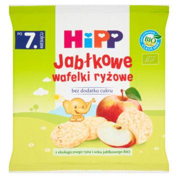 Wafelki ryżowe - Hipp. Wyjątkowy smak, który przypadnie do gustu każdemu maluchowi.