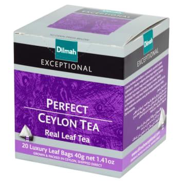 Czarna herbata Perfect Ceylon Dilmah Exceptional z zachodnich upraw cejlońskich.