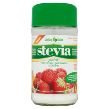 Stevia - słodzik 150g - Zielony Listek