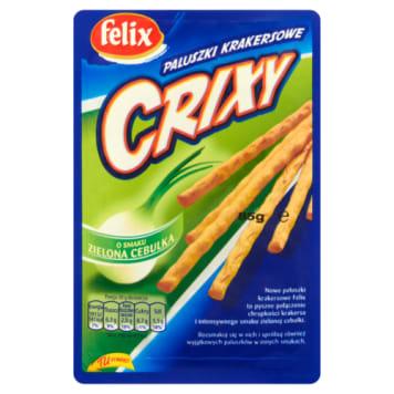 Felix Crixy - Paluszki krakersowe zielona cebulka 85g to idelna przekąska.