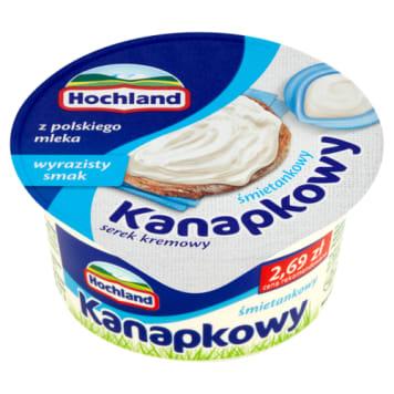 Hochland - Kanapkowy ser twargowy śmietankowy. Idealny na kanapki.