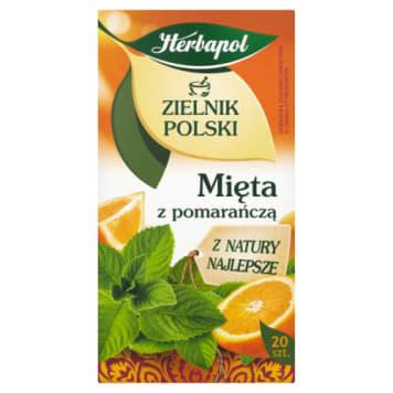 HERBAPOL - mięta z pomarańczą. Pyszna herbata ziołowa