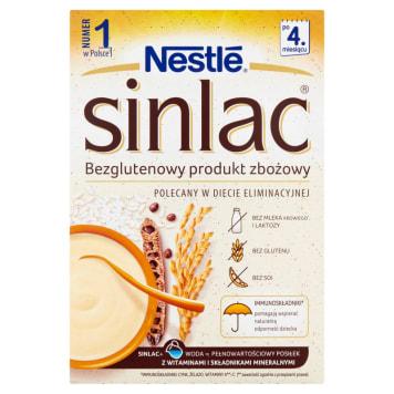 Bezglutenowy produkt zbożowy - Nestle. Bez glutenu, laktozi i innych składników uczulających.