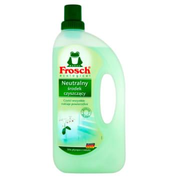 Uniwersalny środek czyszczący-Frosch. Wzbogacony o naturalne składniki jest delikatny dla skóry.