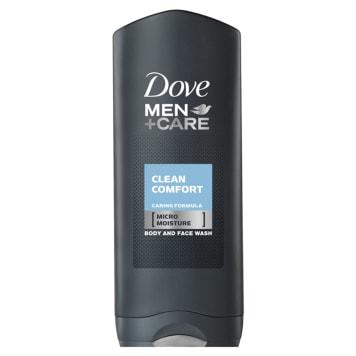 Dove Men + Care - Żel pod prysznic Clean Comfort. Nawilżający i odświeżający żel myjący.