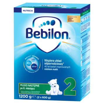 Mleko następne po 6 miesiącu - Bebilon 2. Ma skład najbardziej zbliżony do składu mleka matki.
