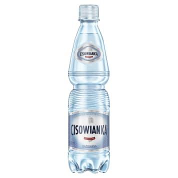 Naturalna woda mineralna gazowana - Cisowianka