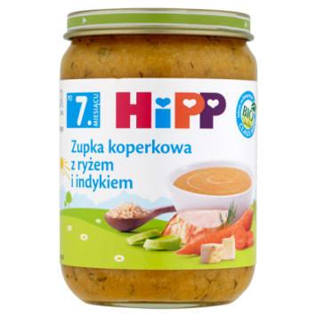 Zupka Koperkowa z ryżem i indykiem - Hipp