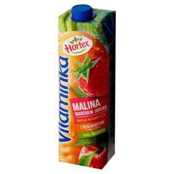 Hortex –Vitaminka Sok marchwiowo-jabłkowo-malinowy -