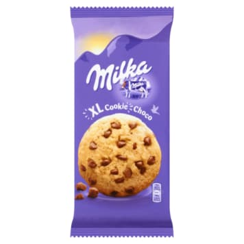 Ciastka z dużymi kawałkami czekolady - Milka