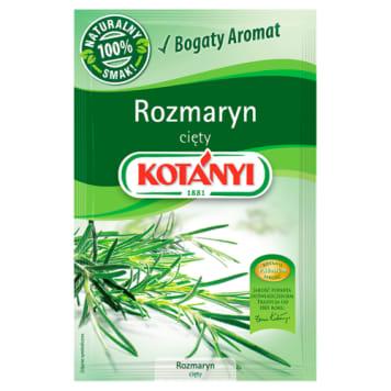 Rozmaryn cięty - Kotanyi. Do potraw mięsnych i warzywnych.