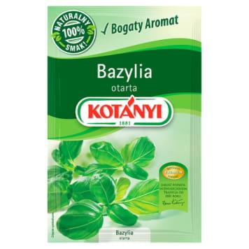 Kotanyi - Bazylia otarta 10g to doskonały dodatek do sałatek, różnych dań i kanapek.