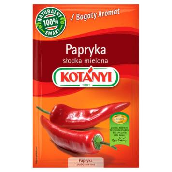Kotanyi - Papryka słodka mielona. Idealny smak i intensywny kolor.