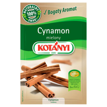 Cynamon mielony - Kotanyi. Orientalny smak w twojej kuchni.