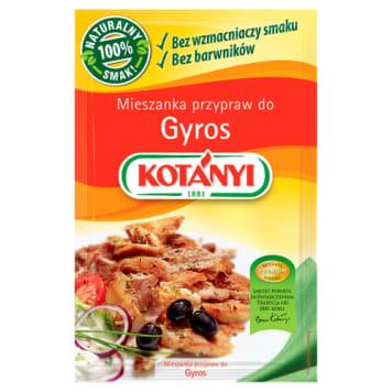 Mieszanka przypraw do gyrosu Kotanyi doskonała do orientalnych dań mięsnych.