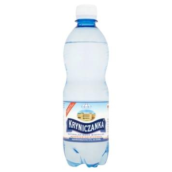 Naturalna woda mineralna 500 ml KRYNICZANKA - bogactwo witamin i minerałów