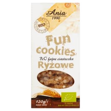 Ciasteczka ryżowe – Bio Ania. Oryginalna receptura pozwala delektować się naturalnym smakiem ryżu.