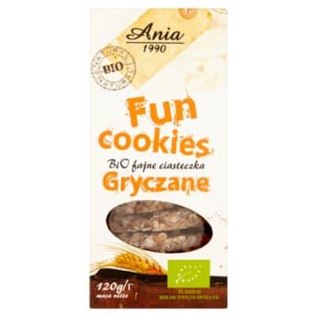 Ciasteczka gryczane - Bio Ania. Zdrowa alternatywa słodyczy z ekologicznych płatków gryczanych.