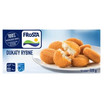 Mrożone dukaty rybne Frosta nie posiadają żądnych ulepszaczy smaku. Doskonale smakują.