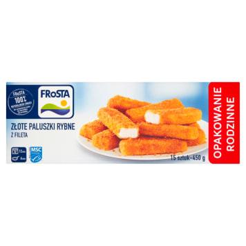 Mrożone paluszki rybne - Frosta. Szybki sposób na smaczny i zdrowy obiad.