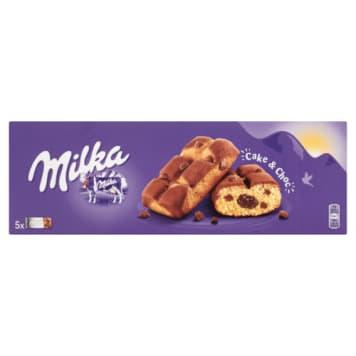 Milka Cake & Choc - ciastka z kawałkami czekolady. Wykonane z alpejskiego mleka.