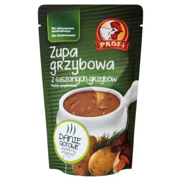 Profi – Zupa grzybowa z suszonych grzybów ma doskonały smak i charakterystyczny, mocny aromat.