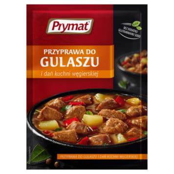 Prymat - Przyprawa do gulaszu. Wzbogaci smak i aromat potrawy.