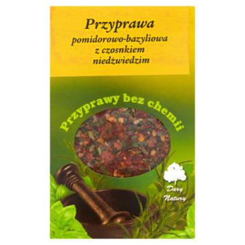 Przyprawa pomidorowo - bazyliowa z czosnkiem niedźwiedzim - Dary Natury